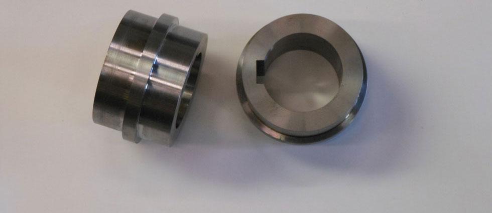 Voorbeeld metaalbewerking draaien frezen metaal